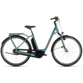 Cube Town Hybrid Pro RT 400 Easy Entry, blue/orange